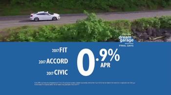 Honda Dream Garage Sales Event TV Spot, 'Don't Miss This' [T2] - Thumbnail 8