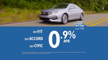 Honda Dream Garage Sales Event TV Spot, 'Don't Miss This' [T2] - Thumbnail 9