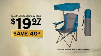 Bass Pro Shops Spring Fever Sale TV Spot, 'Canopy Chair' - Thumbnail 5