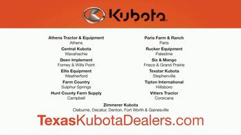 Kubota Orange Opportunity Sales Event TV Spot, 'M5 Series Tractors' - Thumbnail 5
