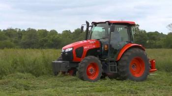 Kubota Orange Opportunity Sales Event TV Spot, 'M5 Series Tractors' - Thumbnail 1