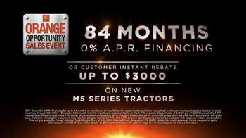 Kubota Orange Opportunity Sales Event TV Spot, 'M5 Series Tractors' - Thumbnail 3