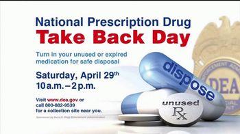 DEA TV Spot, '2017 National Prescription Drug Take Back Day' - Thumbnail 4