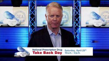 DEA TV Spot, '2017 National Prescription Drug Take Back Day' - 5 commercial airings