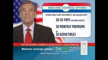 Medicare Coverage Helpline TV Spot, \'Extra Medicare Benefits\'