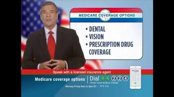 Medicare Coverage Helpline TV Spot, 'Extra Medicare Benefits' - Thumbnail 1