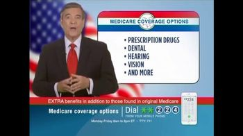 Medicare Coverage Helpline TV Spot, 'Extra Medicare Benefits' - Thumbnail 3