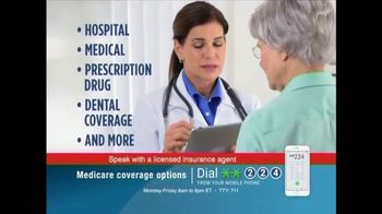 Medicare Coverage Helpline TV Spot, 'Extra Medicare Benefits' - Thumbnail 5