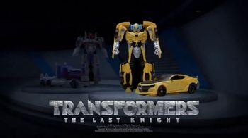Transformers: The Last Knight Figure TV Spot, 'Night Armor Turbo Bumblebee' - Thumbnail 7