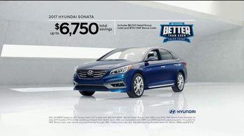 Hyundai Better Than Ever Sales Event TV Spot, '2017 Sonata: Agreed' [T2] - Thumbnail 10