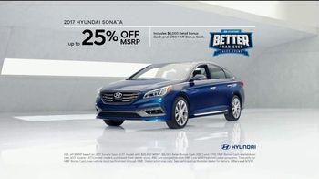 Hyundai Better Than Ever Sales Event TV Spot, '2017 Sonata: Agreed' [T2] - Thumbnail 9