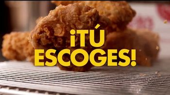 Church's Chicken 12 Pieces for $12 TV Spot, '¡Tú escoges!' [Spanish]
