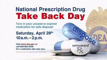 DEA TV Spot, '2017 Prescription Drug Take Back Day' Featuring Patrick Chung - Thumbnail 4