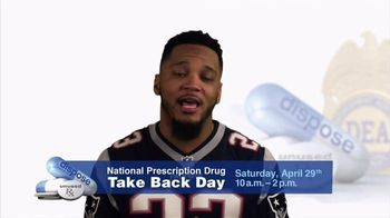 DEA TV Spot, '2017 Prescription Drug Take Back Day' Featuring Patrick Chung - Thumbnail 2
