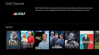 XFINITY X1 TV Spot, 'Golf Channel Shows' - Thumbnail 9