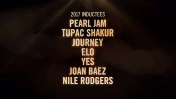 HBO TV Spot, '2017 Rock & Roll Hall of Fame Induction Ceremony' - Thumbnail 4