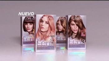 L'Oreal Paris Feria Fashion Metallics TV Spot, 'Colores puros' [Spanish] - Thumbnail 3