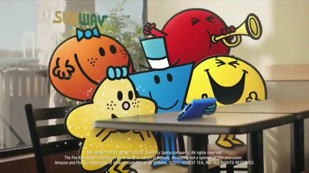 Subway Fresh Fit For Kids Meal Tv Commercial Mr Men And Little