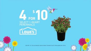 Lowe's Spring Savings TV Spot, 'Perennials & Garden Soil' - Thumbnail 4