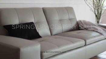 Dania Spring Upholstery Sale TV Spot, 'Enjoy Great Savings' - Thumbnail 4