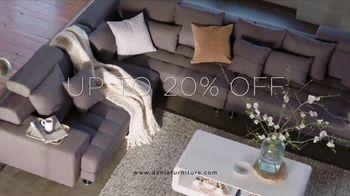 Dania Spring Upholstery Sale TV Spot, 'Enjoy Great Savings' - Thumbnail 5