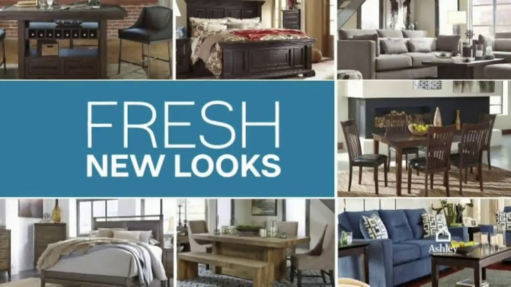 Ashley Furniture Homestore TV Commercial, U0027New, Now, Wow: Upholstered Bedu0027    ISpot.tv