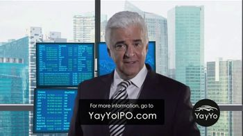YayYo TV Spot, 'Initial Public Offering' Featuring John O'Hurley - 42 commercial airings