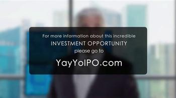 YayYo TV Spot, 'Initial Public Offering' Featuring John O'Hurley - Thumbnail 10