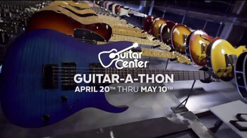 Guitar Center Guitar-a-Thon TV Spot, 'Epiphone and Ibanez Guitars' - Thumbnail 1