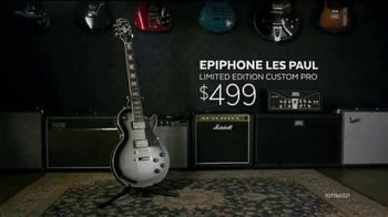 Guitar Center Guitar-a-Thon TV Spot, 'Epiphone and Ibanez Guitars' - Thumbnail 5