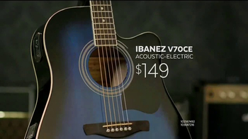 Guitar Center Guitar-a-Thon TV Spot, 'Epiphone and Ibanez Guitars' - Thumbnail 7