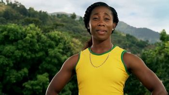 Grace Coconut Water TV Spot, 'A Few Seconds With Shelly-Ann Fraser-Pryce' - 3 commercial airings