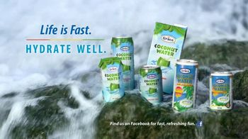 Grace Coconut Water TV Spot, 'A Few Seconds With Shelly-Ann Fraser-Pryce' - Thumbnail 8