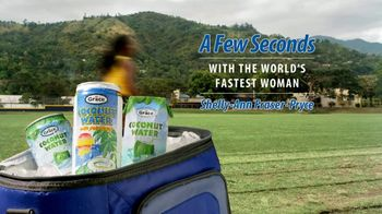 Grace Coconut Water TV Spot, 'A Few Seconds With Shelly-Ann Fraser-Pryce'