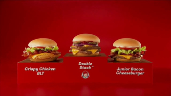 Wendy's 4 for $4 Meal TV Spot, 'WHO Wouldn't Love a Fresh Cheeseburger' - Thumbnail 2