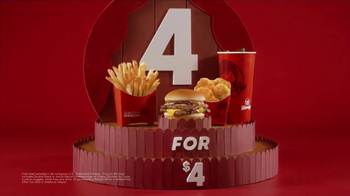Wendy's 4 for $4 Meal TV Spot, 'WHO Wouldn't Love a Fresh Cheeseburger' - Thumbnail 6