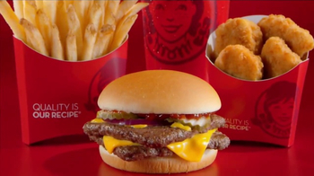 Wendy's 4 for $4 Meal TV Spot, 'WHO Wouldn't Love a Fresh Cheeseburger' - Thumbnail 9