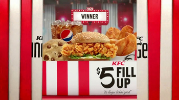 KFC $5 Fill Ups: Zinger TV Spot, 'Winner' - Thumbnail 9