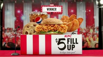 KFC $5 Fill Ups: Zinger TV Spot, 'Winner' - Thumbnail 7