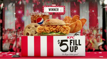 KFC $5 Fill Ups: Zinger TV Spot, 'Winner' - Thumbnail 8