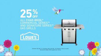 Lowe's Spring Savings TV Spot, 'Grills & Grass Seed' - Thumbnail 4