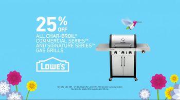 Lowe's Spring Savings TV Spot, 'Grills & Grass Seed' - Thumbnail 5