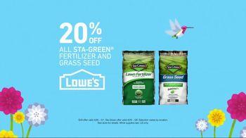 Lowe's Spring Savings TV Spot, 'Grills & Grass Seed' - Thumbnail 6