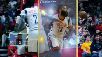 NBA App TV Spot, 'Just One Play: Determined Force' Featuring James Harden - Thumbnail 5