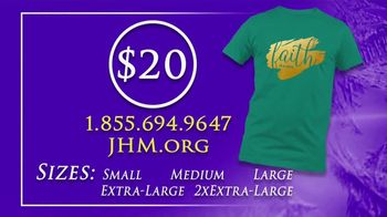 John Hagee Ministries Faith Is A Verb T-Shirt TV Spot, 'Take Action' - Thumbnail 6