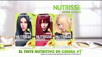 Garnier Nutrisse Ultra Color TV Spot, 'Color más vivo' [Spanish] - Thumbnail 9