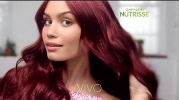 Garnier Nutrisse Ultra Color TV Spot, 'Color más vivo' [Spanish] - 1799 commercial airings