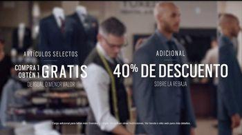 Men's Wearhouse TV Spot, 'Sastre: visto todo' [Spanish] - Thumbnail 9