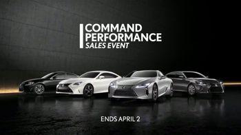 Lexus Command Performance Sales Event TV Spot, 'Nothing Compares' [T1] - Thumbnail 10