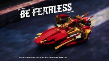 LEGO Ninjago: Masters of Spinjitzu TV Spot, 'Be Fast'